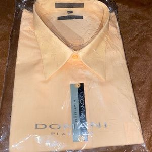 3/$25 NWT Domani long sleeve dress shirt size 19